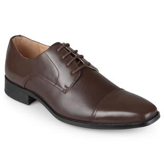 Vance Co. Men's Faux Leather Lace-up Dress Shoes
