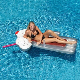 Swimline RootBeer Float Inflatable for Swimming Pools
