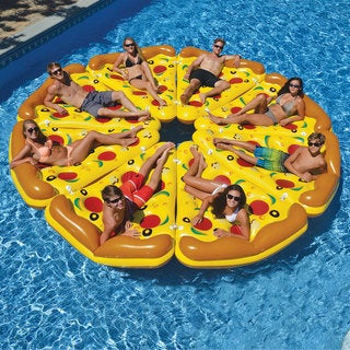Complete Pizza Pool Float Set