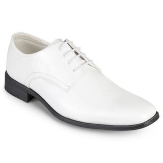 Vance Co. Men's Faux Leather Lace-up Dress Shoes