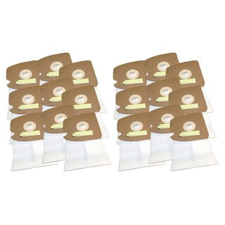 18pk Replacement Style MM Bags, Fits Eureka, Compatible with Part 60295, 60296 & 60297