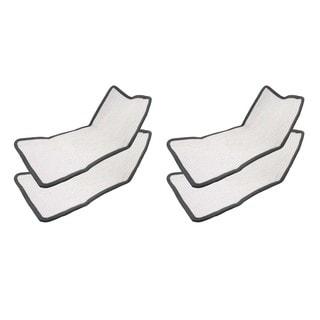 4 Eureka Enviro Floor Steamer Cloth Pads Part # 60978 60980 66996