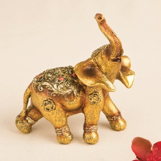 Good Luck Decorative Mini Elephant Accent Piece