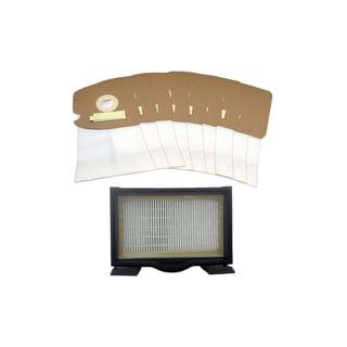 Eureka HF8 HEPA Filter and 9 MM Bags Part # 60666 60295 60296 60297