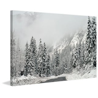 Marmont Hill - 'Winter Wonderland' by Robert Dickinson Painting Print on Canvas