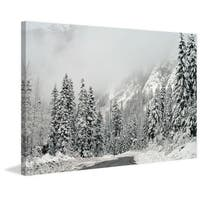 Marmont Hill - 'Winter Wonderland' by Robert Dickinson Painting Print on Canvas - Multi-color