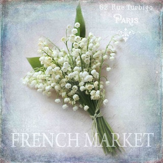Marmont Hill - 'French Market' by Sylvia Cook Painting Print on Canvas