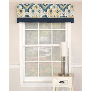 Alessandro Seamist Banded Cotton Valance