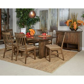 Signature Design by Ashley Zilmar Brown Table and Four Chairs Set