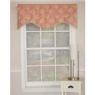 Faith Pink Cornice Cotton Valance