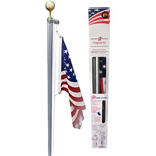 Ezpole Classic Traditional Flagpole Kit