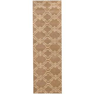 Herat Oriental Indo Hand-tufted Tibetan Wool Runner (2'7 x 10') https://ak1.ostkcdn.com/images/products/11323800/P18300576.jpg?_ostk_perf_=percv&impolicy=medium