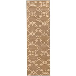 Herat Oriental Indo Hand-tufted Tibetan Wool Runner (2'7 x 10')|https://ak1.ostkcdn.com/images/products/11323800/P18300576.jpg?impolicy=medium