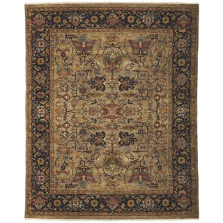 Bethany Camel Traditional Hand-knotted Rug (8' x 10')