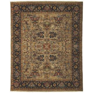 Bethany Camel Traditional Hand Knotted Rug 8 X
