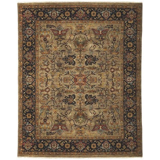Bethany Camel Traditional Hand-knotted Rug (9' x 12')