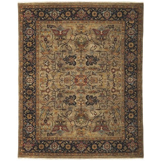 Bethany Camel Traditional Hand-knotted Rug (10' x 14')