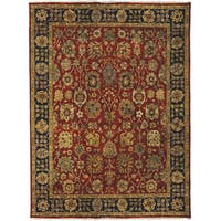 Bethany Rust Traditional Hand-knotted Rug - 10' x 14'