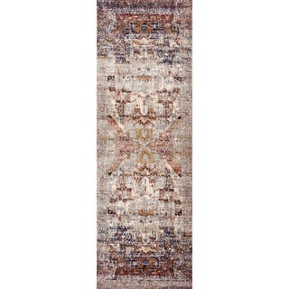 Contessa Slate/ Multi Runner Rug (2'7 x 10'0)