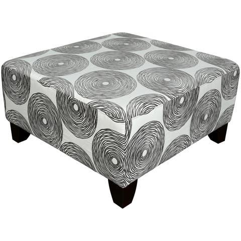 Porter Reese Dove Grey Sectional Sofa with Optional Ottoman