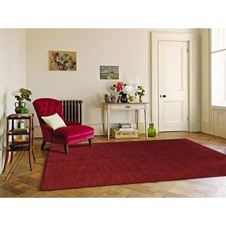 Granada Red Modern Design Hand-woven Rug (9' x 12')