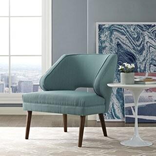 Dock Fabric Mid Century Armchair