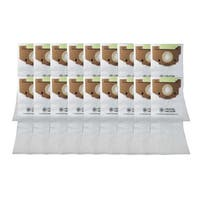 18 Eureka Style RR Allergen Paper Bags Part # 61115 63295A - White
