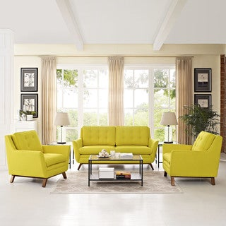 Beguile Fabric 3-Piece Living Room Set