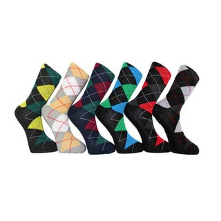 Men's Frenchic Premium Fashion Printed Argyle Dress Socks (12 Pairs)|https://ak1.ostkcdn.com/images/products/11324280/P18300953.jpg?impolicy=medium