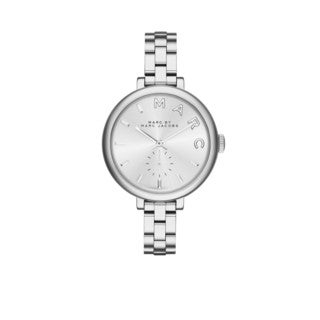 Marc By Marc Jacobs Women's MJ9722 Sally Silver Dial Stainless Steel Bracelet Watch