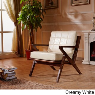 Elegant Signature Designs Solid Wood Accent Club Arm Chair (3 options available)