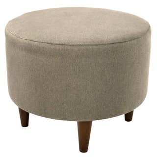 MJL Furniture Sophia Dawson7 Round Upholstered Ottoman