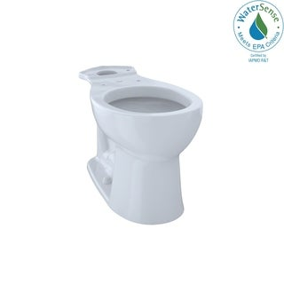 Toto Entrada Round Toilet Bowl Cotton White