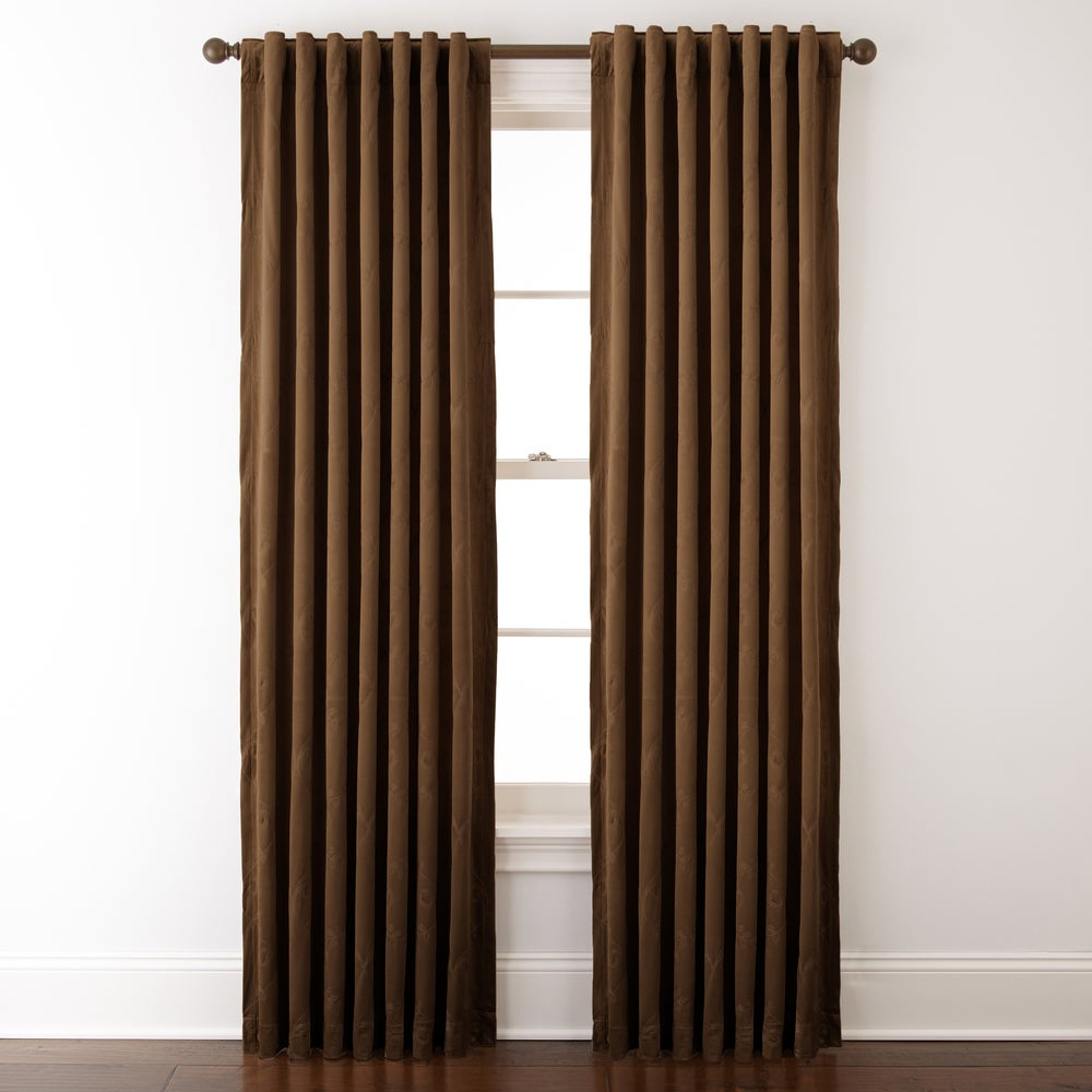Shop Grand Avenue Remedy 54 x 84-inch Embroidered Single Curtain Panel - 11324491