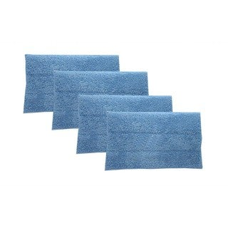 4 Blue Steam Mop Pads Fits HAAN Part # RMF2 RMF4