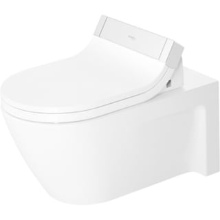 Duravit Toilet Wall-mounted/ Starck 2/ Concealed Fixation/ For Sensowash C White Alpin