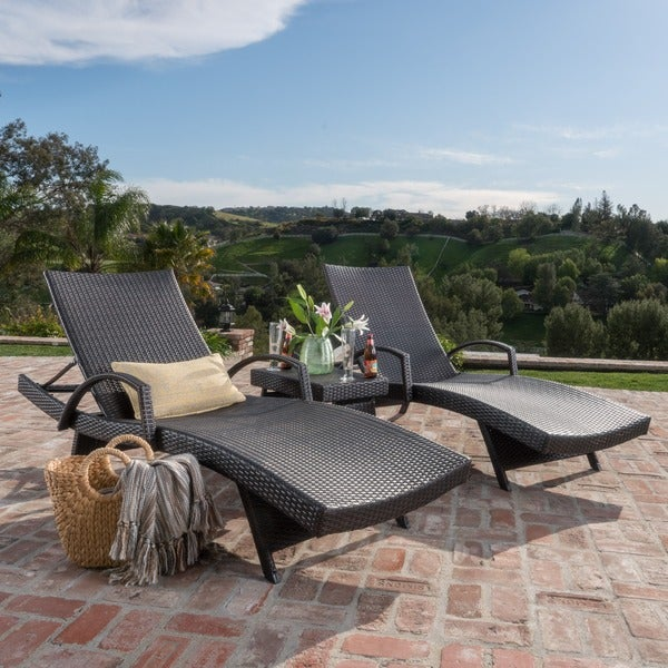 Oliver U0026amp; James Baishi 3 Piece Outdoor Lounge Set