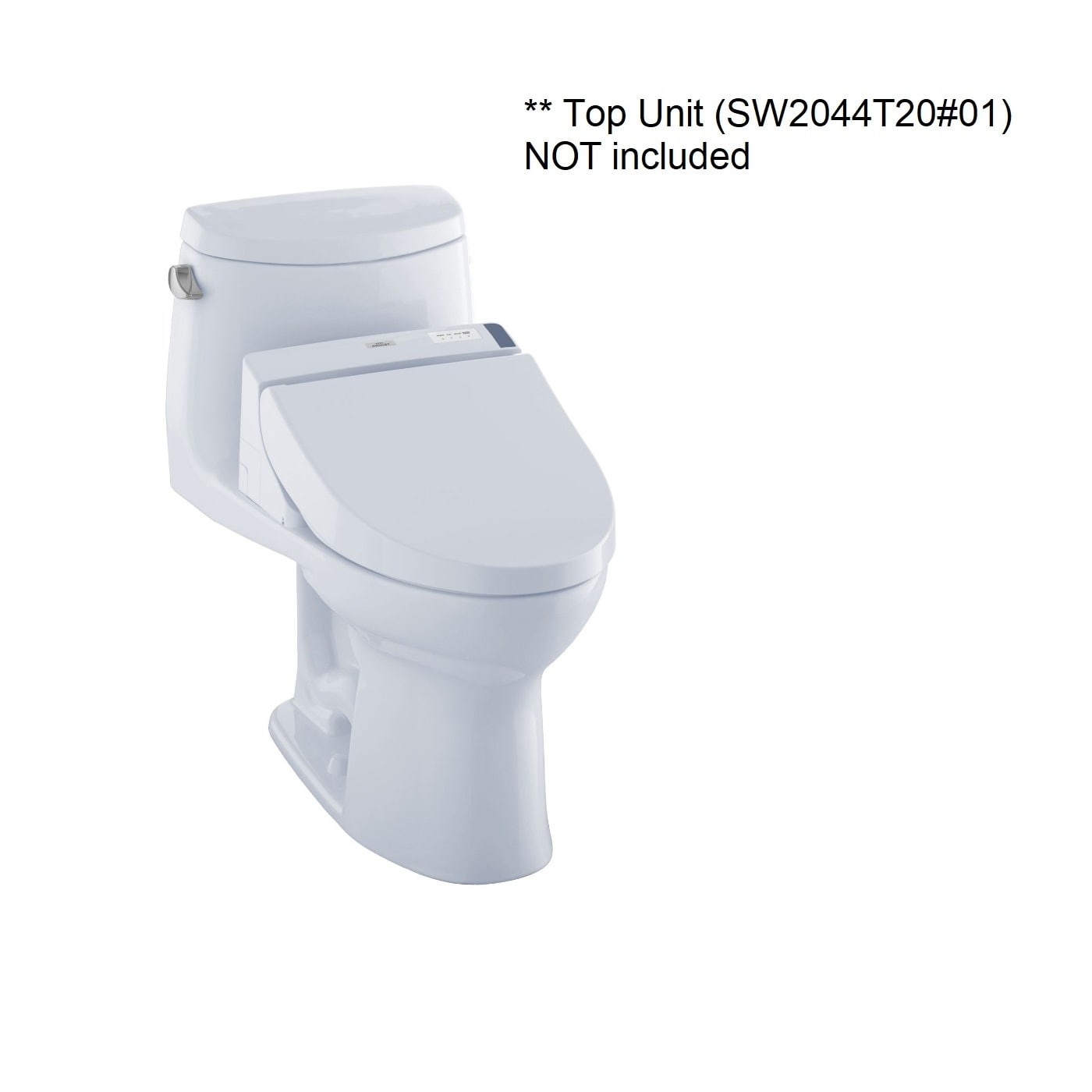 Toto Ultramax II 1-piece Toilet Het Cc Cotton (Cotton White)