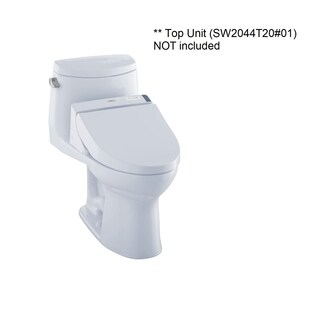 Toto Ultramax II Elongated One Piece Toilet CST604CEFGT20#01 Cotton White