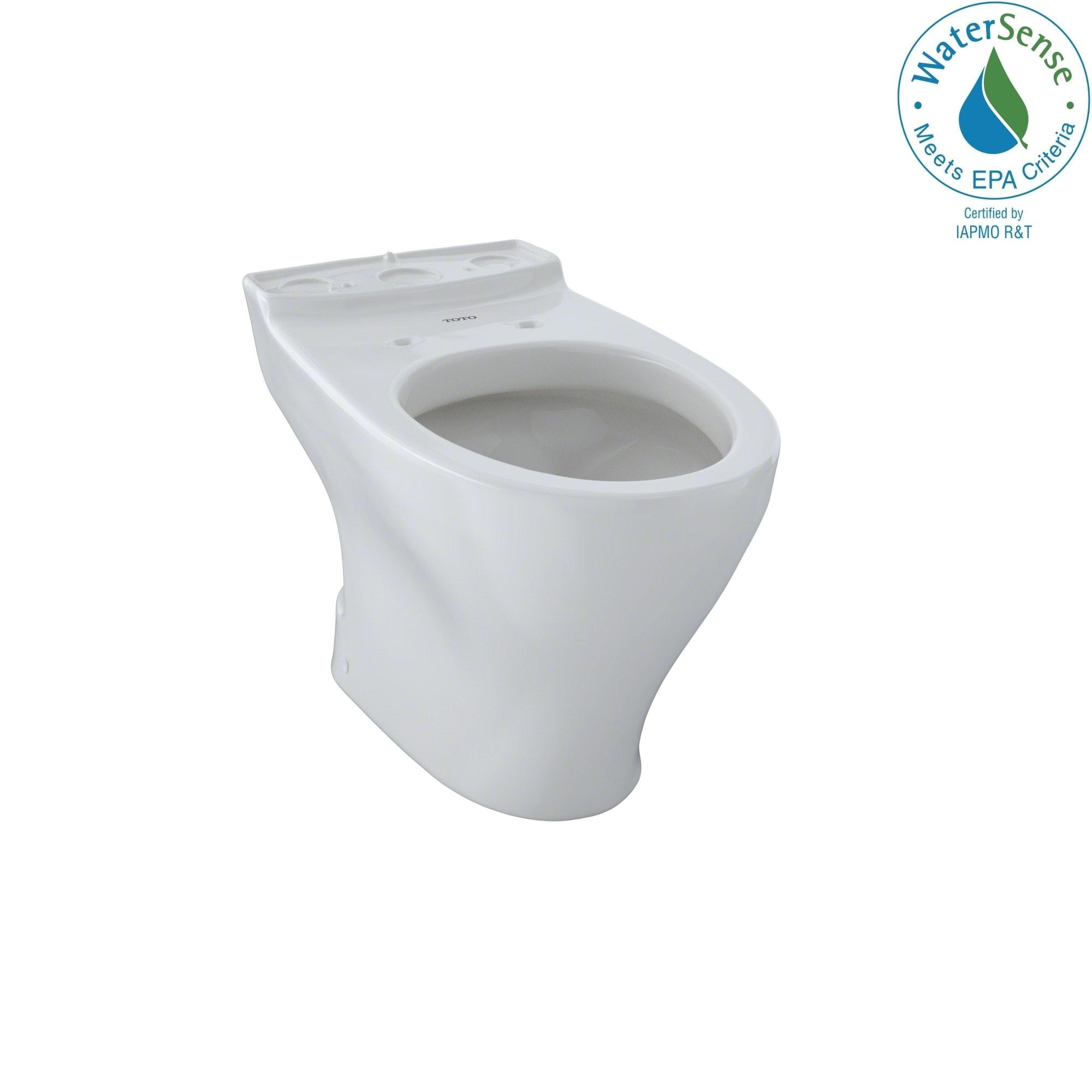 Toto Dual Flush Toilet Bowl Colonial White (Colonial White)