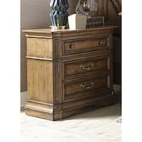 Amelia Antique Toffee 2-Drawer Nightstand