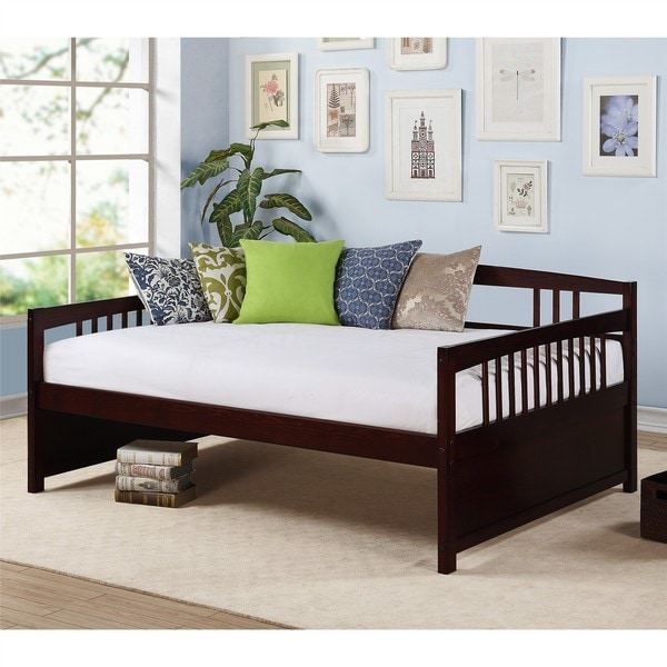 Dorel Living Morgan Espresso Full Size Daybed