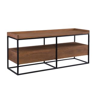 Aurelle Home French Antique Rustic TV Stand with Drawers