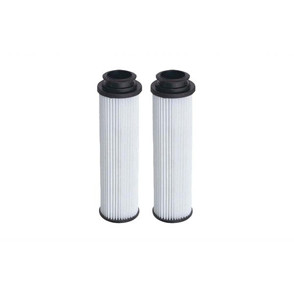 2pk Replacement HEPA Style Filters, Fits Hoover Windtunnel Bagless, Washable & Reusable, Compatible with Part 40140201, 43611042
