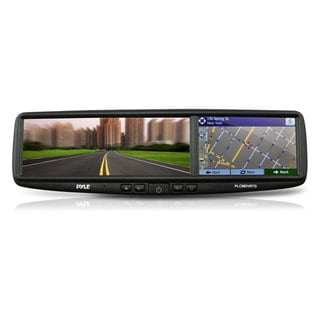 Pyle PLCMDVR7G HD Smart GPS/ Bluetooth/ DVR Recording/ Night Vision Rearview Backup Camera and Mirror Monitor System
