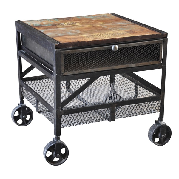 Shop Handmade Wanderloot Industrial Metal Mesh Drawer