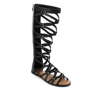 Beston DB37 Women's Studded Gladiator Sandals