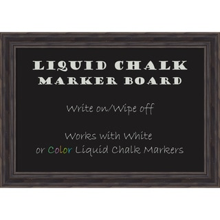 Rustic Pine Liquid Chalk Marker Board Medium Board 28 x 20- inch