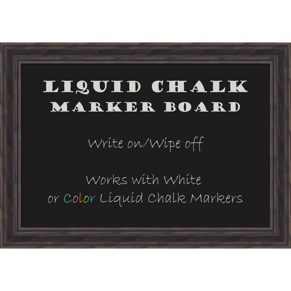 Rustic Pine Liquid Chalk Marker Board Medium Board 28 x 20- inch