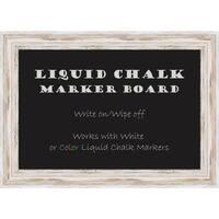 Alexandria Whitewash Liquid Chalk Marker Small Board 21 x 15- inch